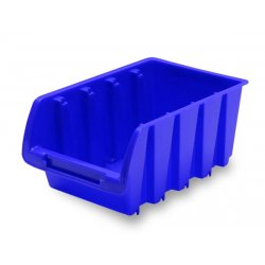 Zásobník 16,5 x 10,5 x 7,5 cm v modrej farbe