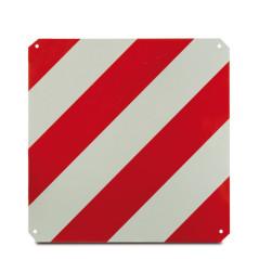 DEMA Výstražná reflexná tabuľka 50x50 cm, červeno-biela