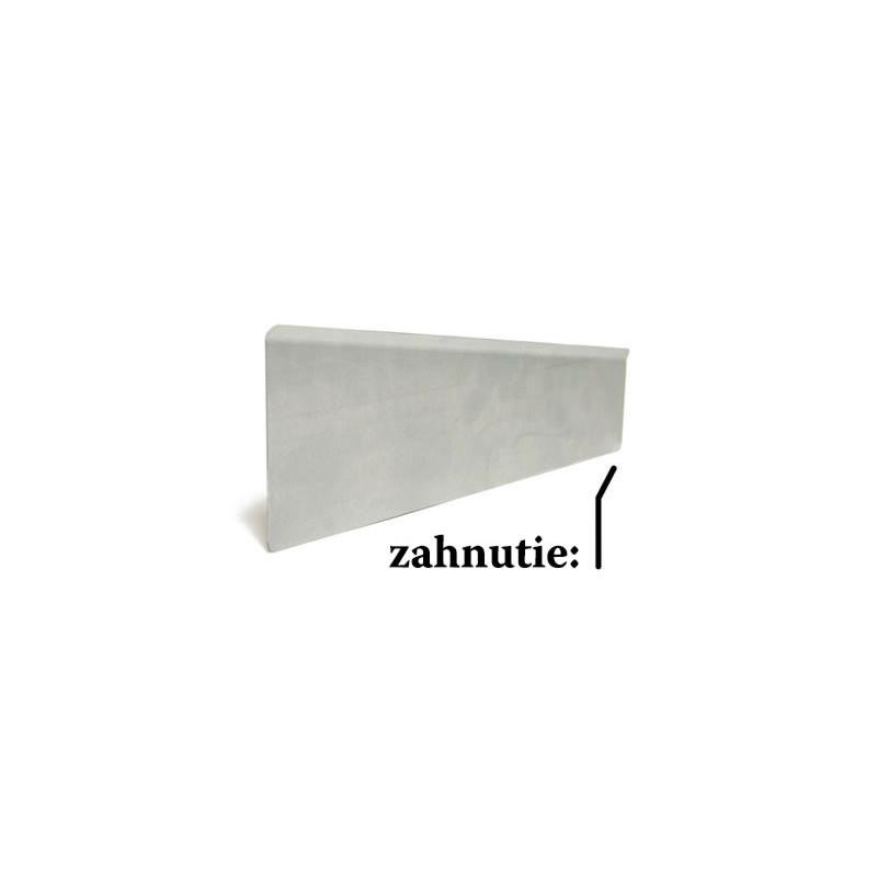 Trapézový rozdeľovač regálu 350 x 130 x 78 mm