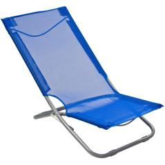 Stolička sklápacia modrá