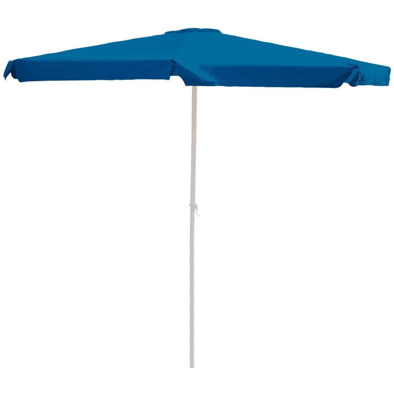 DEMA Hliníkový slnečník s kľukou 350 cm Alu, modrý