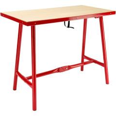 Stôl sklápací XL 120 x 70 cm