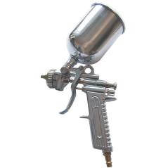 Striekacia pištoľ s vrchnou nádobkou
