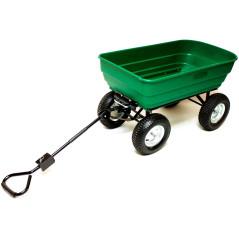 DEMA Ručný výklopný vozík 130 L XL