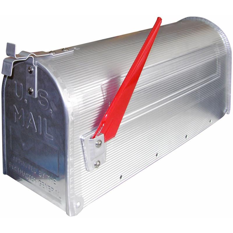 Americká poštová schránka strieborná