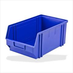 DEMA Plastový zásobník na súčiastky 205x335x150 mm, modrý