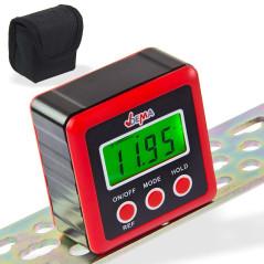 DEMA Digitálna vodováha s LCD displejom Cube