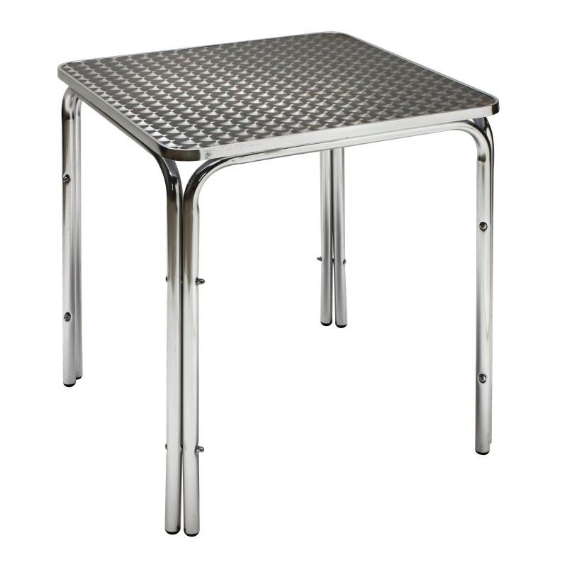 Hliníkový záhradný stolík Twin600