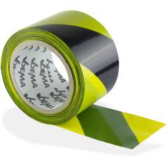 Výstražná páska žlto/čierna 100 m
