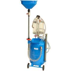 Pneumatická zberná nádoba/odsávačka na olej 65 L