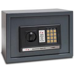 DEMA Digitálny trezor 35x25x25 cm 22 litrov
