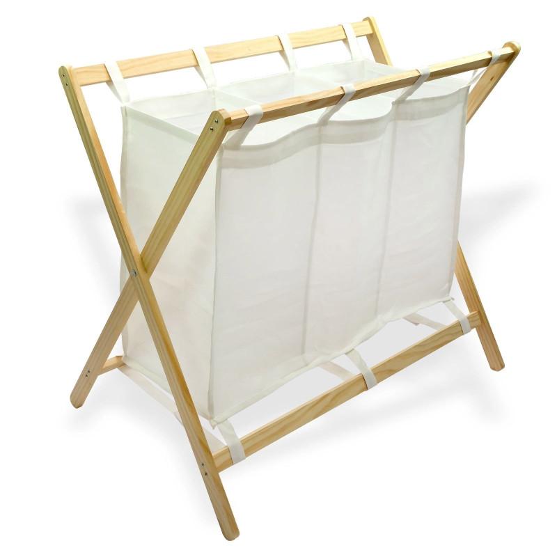 Triediaci kôš na prádlo DEMA Holz