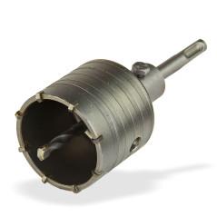 Vŕtacia korunka 65 mm s vrtákom a SDS-Plus stopkou DEMA