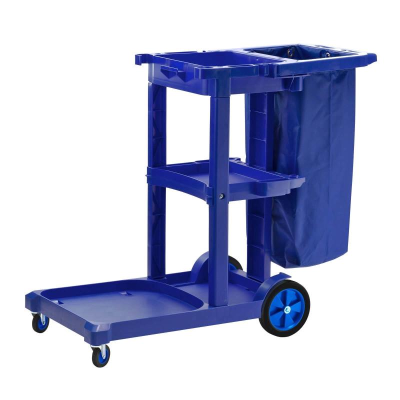 Profi upratovací vozík s držiakom na odpadkové vrece 87L DEMA