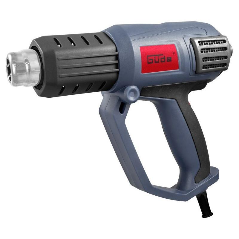 Güde Teplovzdušná pištoľ HLG 650-2000 LCD