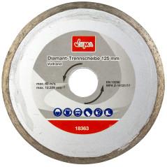 Diamantový rezný kotúč 125 mm DEMA DDT125V