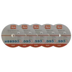 Rezný kotúč na kov 230x1,9x22,2 mm DEMA 5 ks