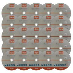 Rezný kotúč na kov 230x1,9x22,2 mm DEMA 25 ks