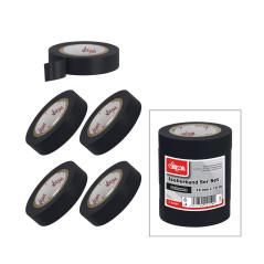 Izolačná páska 15 mmx10 m, 5 ks, čierna