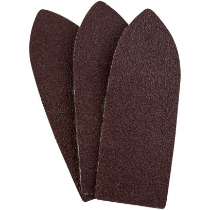 Güde Brúsny papier delta 95x35 mm, 2x K100, 2x K120, 2x K180