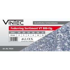 Pružinové podložky Vintec VT800