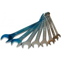 Sada vidlicových kľúčov 6-22 mm DEMA 8-dielna