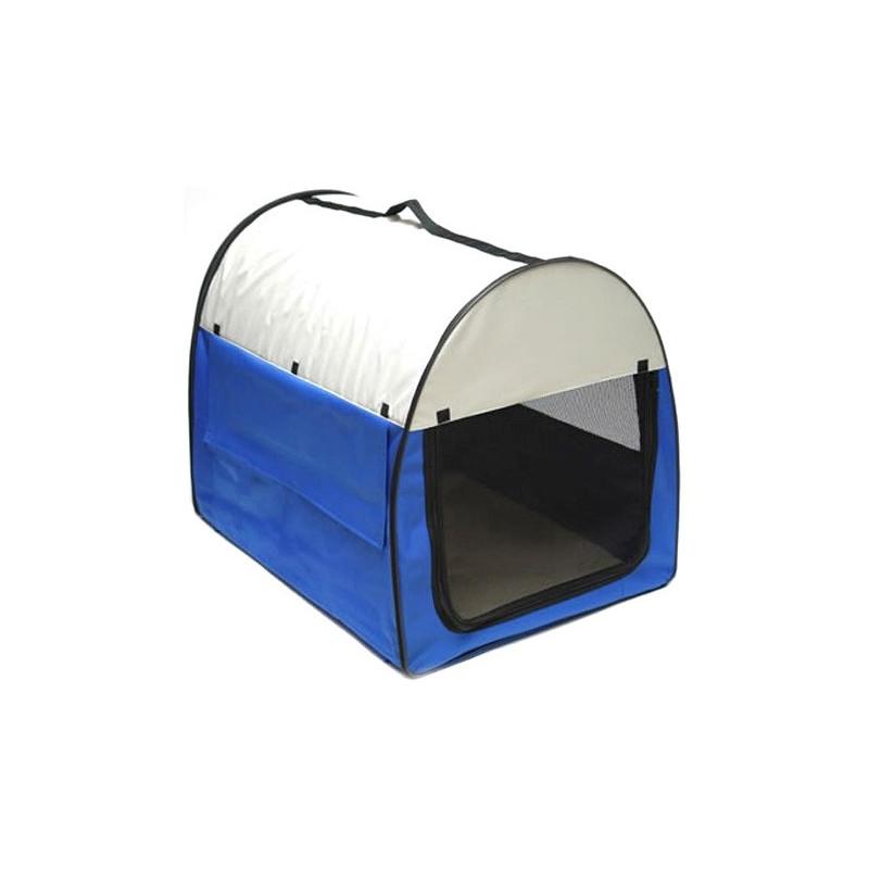 Transportná taška pre psy a mačky 70x51x58 cm modrá DEMA