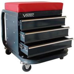 Dielenská stolička so šuflíkmi Vintec VT 3