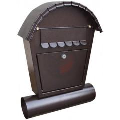 DOLS Poštová schránka RD-2T, antik medená