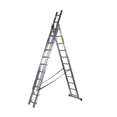DRABEST Profi hliníkový rebrík DW3-11