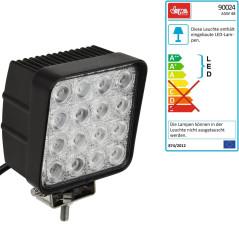 DEMA LED pracovný reflektor 12 V 16x3 W