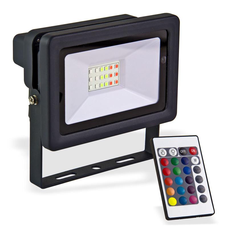 LED reflektor 20 W meniaci farby
