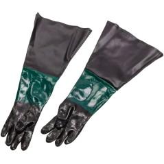 DEMA Ochranné rukavice na pieskovanie