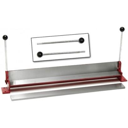 DEMA Ručná ohýbačka, bigovací stroj 750 mm