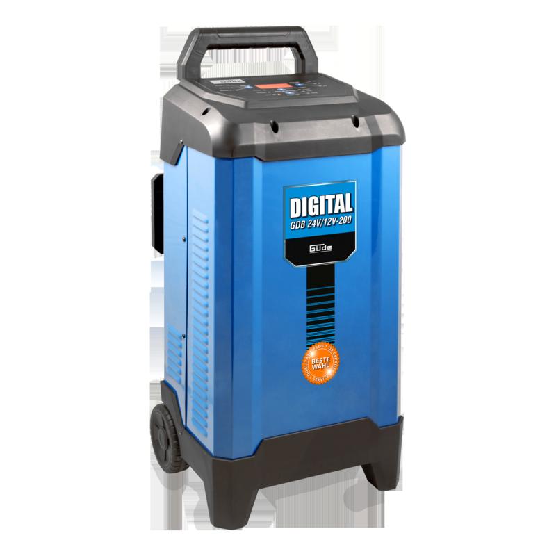 Güde Digitálna nabíjačka autobatérií GDB 24V/12V-200 85128