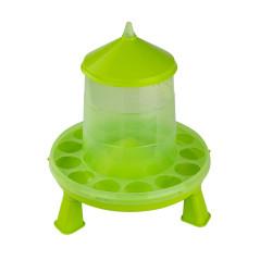 MenaVET Kŕmny automat pre hydinu na nožičkách plastový 2 kg, zelený