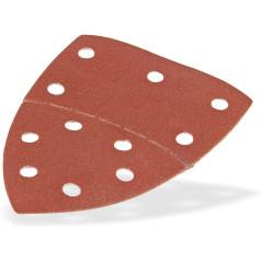 DEMA Brúsny papier pre delta brúsku 102x152 mm K120, 10 ks
