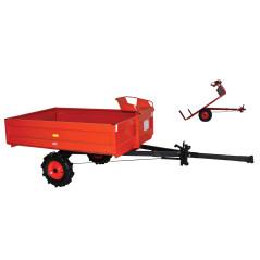 TECAK Prívesný vozík so sedadlom PVT-400 TK-005