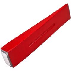 DEMA Štiepací klin kovový 2 kg, červený