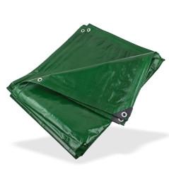 DEMA Nepremokavá plachta zakrývacia 4x6 m 210 g/m2, zelená