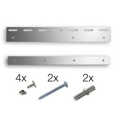 MenaVET Závesný plech na PVC závesný pás 300x1,2 mm