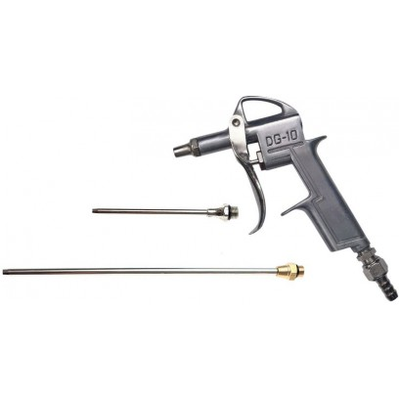 Pneumatická vyfukovacia pištoľ, 3 trysky