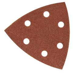 DEMA Brúsny papier pre delta brúsku 93x93x93 mm P80, 50 ks