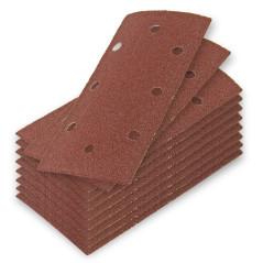 DEMA Brúsny papier pre vibračnú brúsku 93x185 mm K60, 10 ks