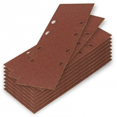 DEMA Brúsny papier pre vibračnú brúsku 93x230 mm K60, 10 ks