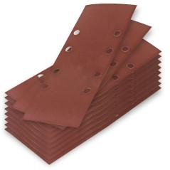 DEMA Brúsny papier pre vibračnú brúsku 93x230 mm K240, 10 ks