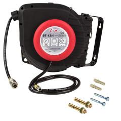 DEMA Automatický navíjací bubon s pneumatickou hadicou 12 m ST 12/1