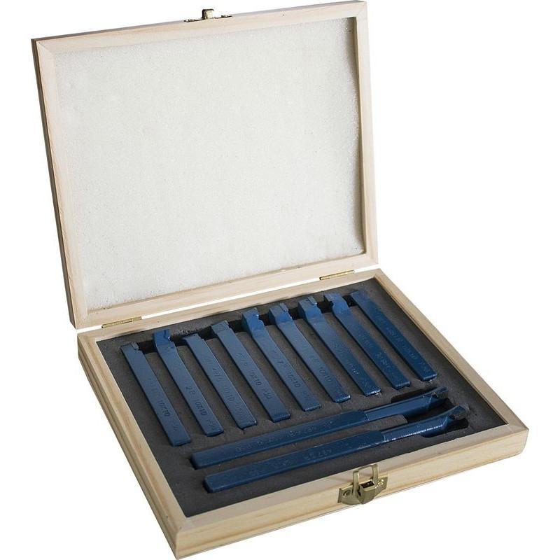 Güde Sada sústružníckych nožov 10x10 mm, 11-dielna