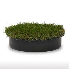 Veko s umelou trávou