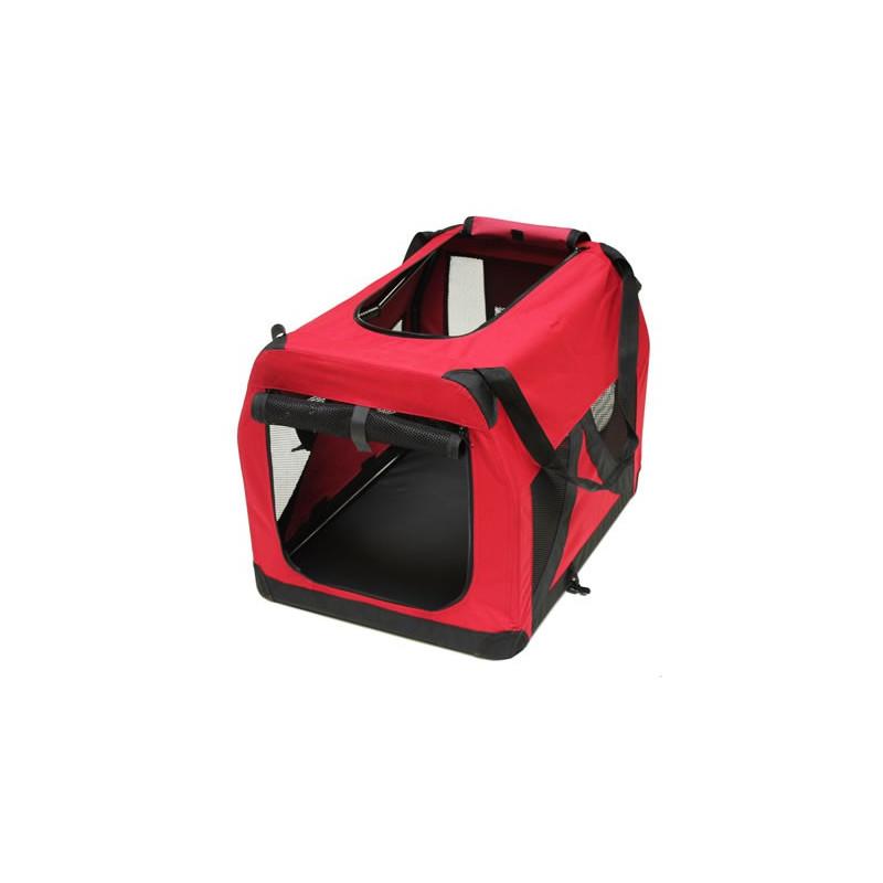 Box pre psa / mačku, červený, 70 x 52 x 52 cm